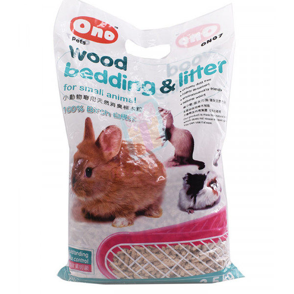 Ono Pets Wood Bedding & Litter 2.5 kg