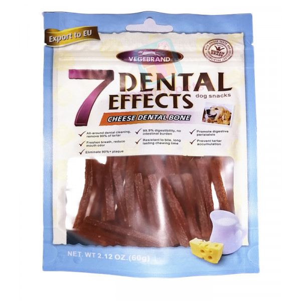 Vegebrand 7 Dental Effects Dog Treats Small Stick 60g