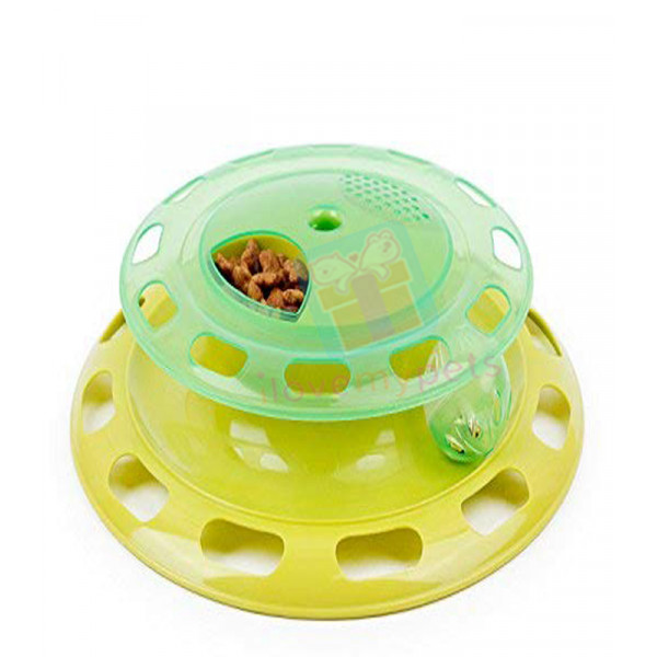 Carno Cat Turntable w/ Food Dispenser