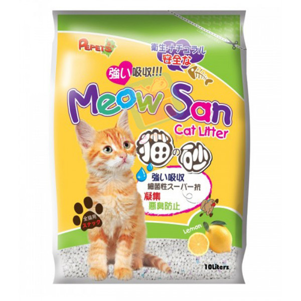 Meow San Cat Litter 10 L (7.5 kg)