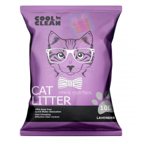 Cool Clean Clumping Cat Litter 10L /8.2k...