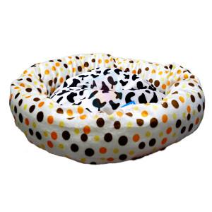 Happy Pets Soft Plush Round Cat Bed...