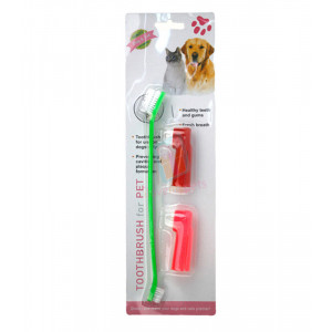 3 pcs. Toothbrush Value Pack (1 Dual Hea...