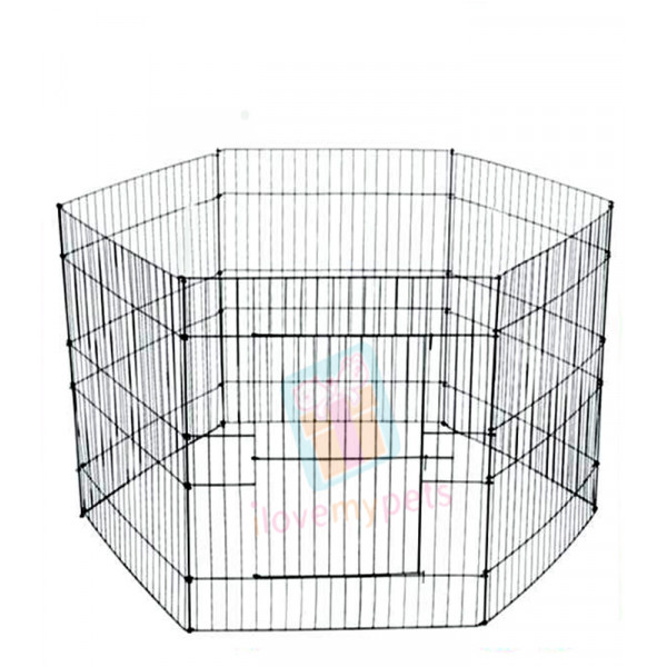 Happy Pets Exercise Pen, Large, 6 Panel