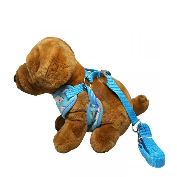 Cute Cotton Cloth Harness with Leash