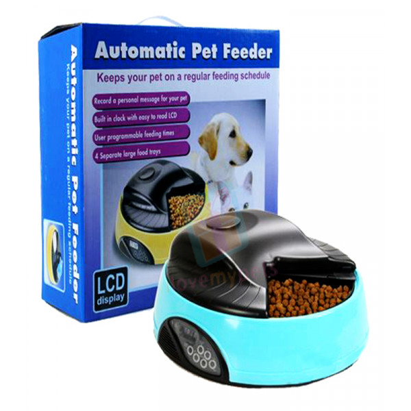 Automatic Pet Feeder W/ Ice/ Water Compa...