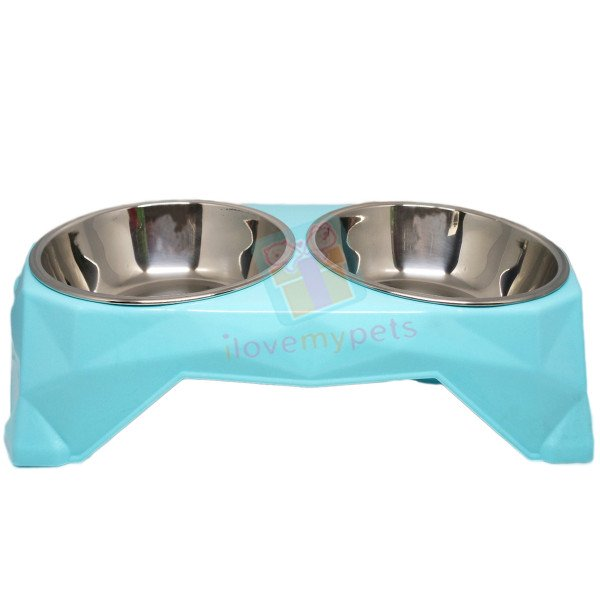 Happy Pets Food & Water Removable Bowl
