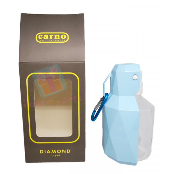 Carno Diamond Travel Bottle, 250 ml (For...