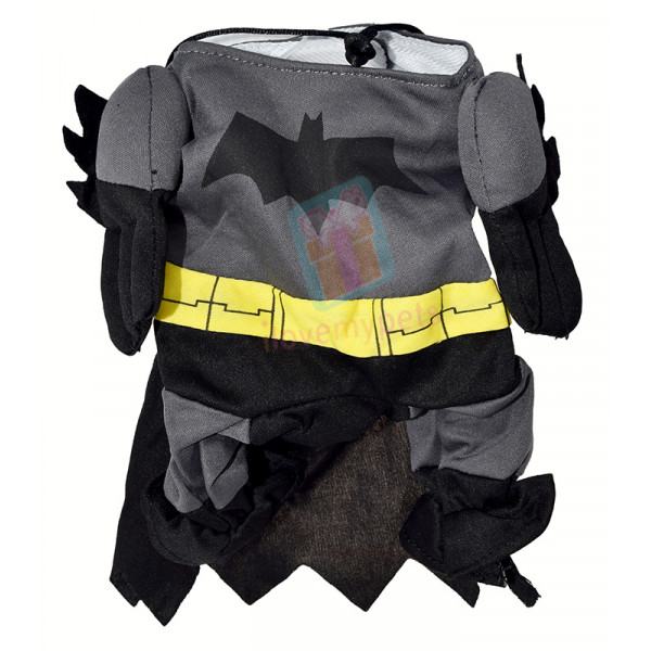 Batman Dog Costume W/ Cape, Cotton