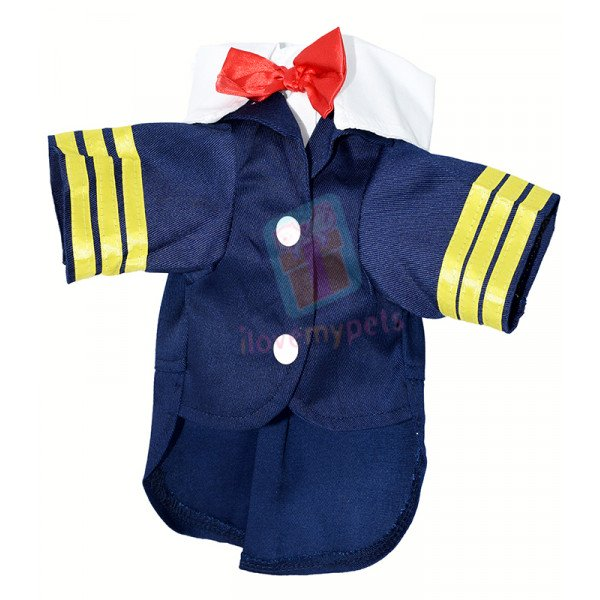 Airline Captain Costume Cotton
