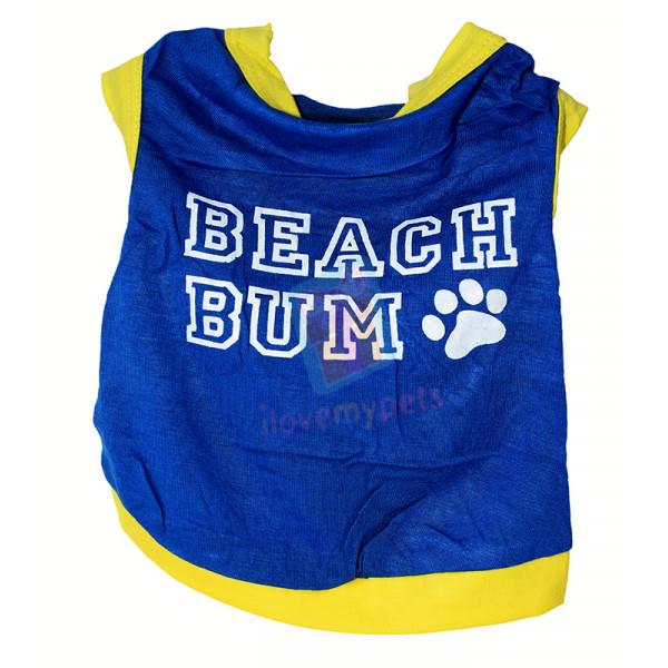 Drooling Dog Beach Bum, Blue Jersey