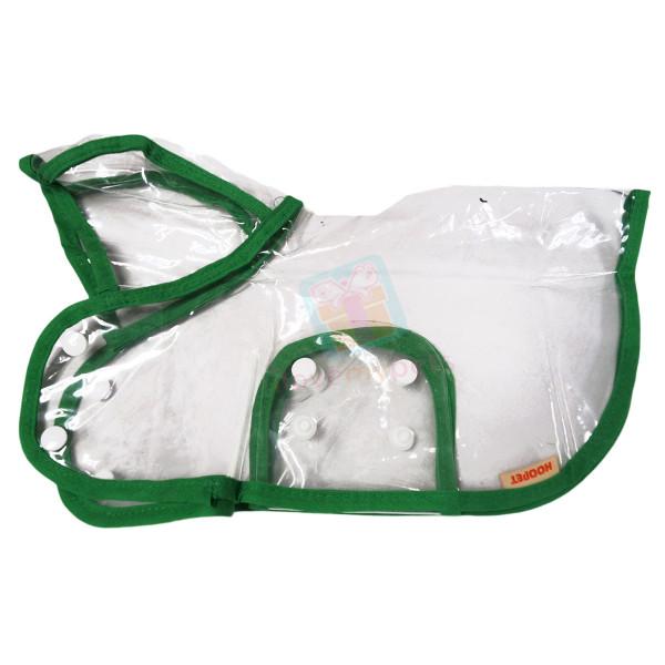 Waterproof Transparent Pet Rain Coat for...