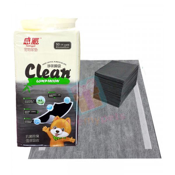 Thxpet Clean Companion Charcoal Pet Pads, Medium (Repacked) (1pc.)