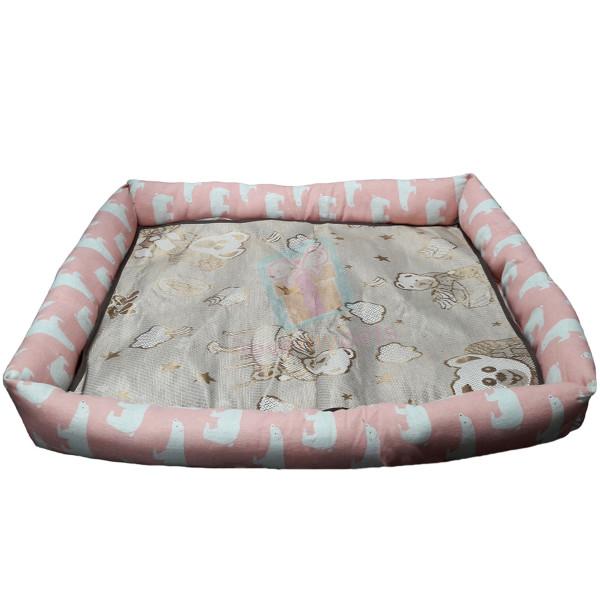 Happy Pets Rectangle Pet Bed w/ Detachab...