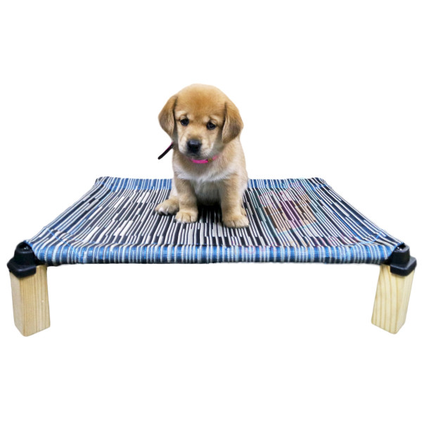 Happy Pets Cool Elevated Pet Cot/Bed, Small