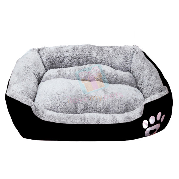 Happy Pets Padded Durable Pet Bed (Good Head & Neck Support) (Large)