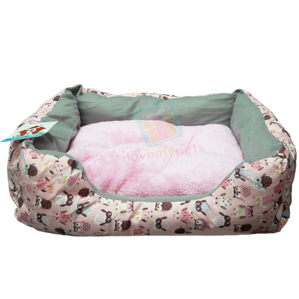 Happy Pets Cotton Bed w/ Removable Soft Cushion (XL)