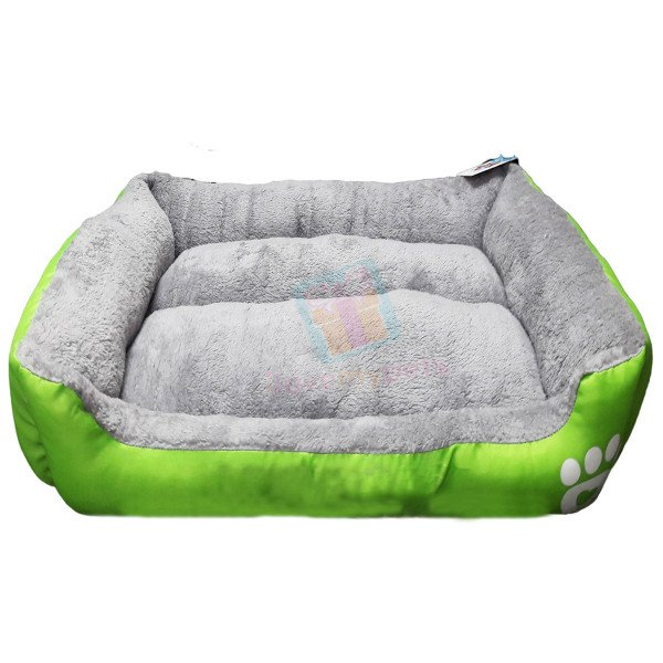 Happy Pets Padded Durable Pet Bed (Good Head & Neck Support) (Small)