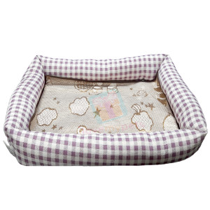Happy Pets Rectangle Pet Bed w/ Detachab...