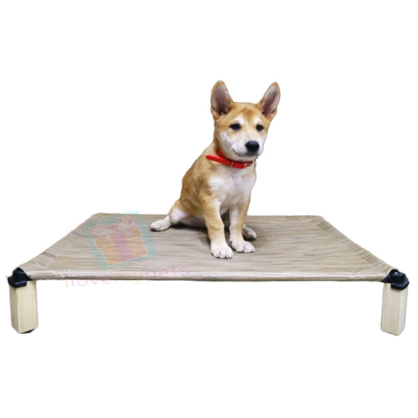 Happy Pets Cool Elevated Pet Cot/Bed, Medium