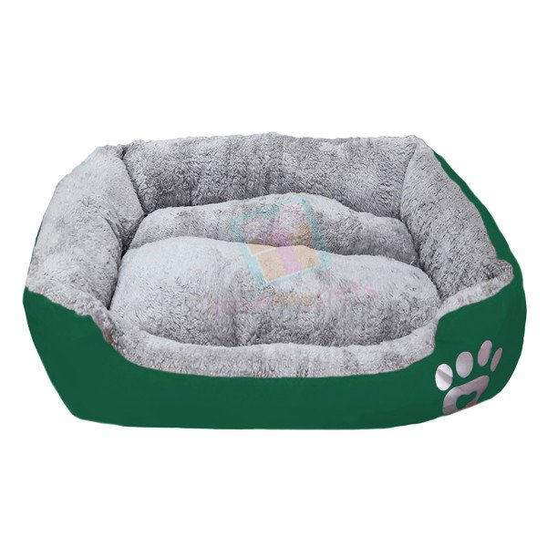 Happy Pets Padded Durable Pet Bed (Good Head & Neck Support) (Medium)