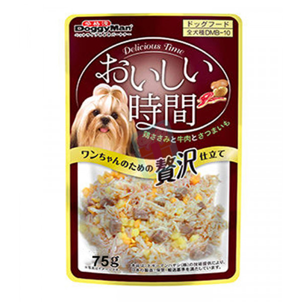 Doggyman Pouch Feast For Dog, Chicken &a...