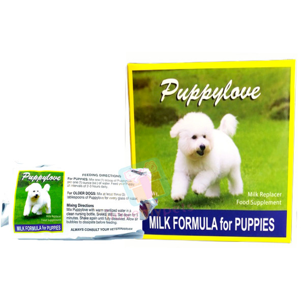 Puppy Love Milk Formulas for Puppies (300 grams)