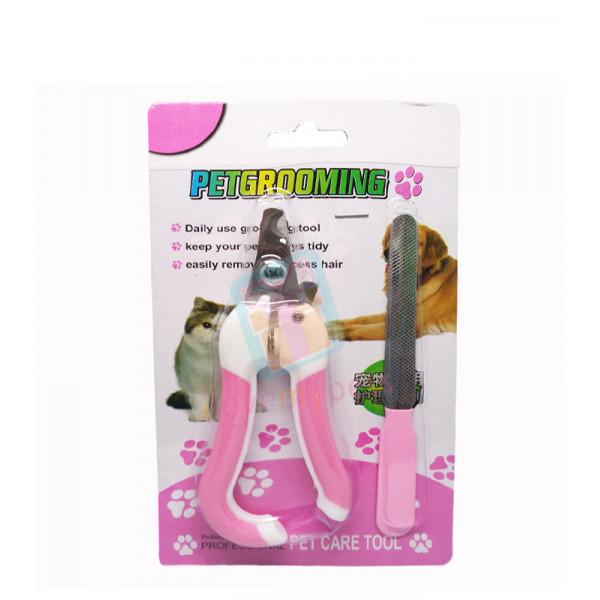Pet Care Nail Scissor w/ File Small