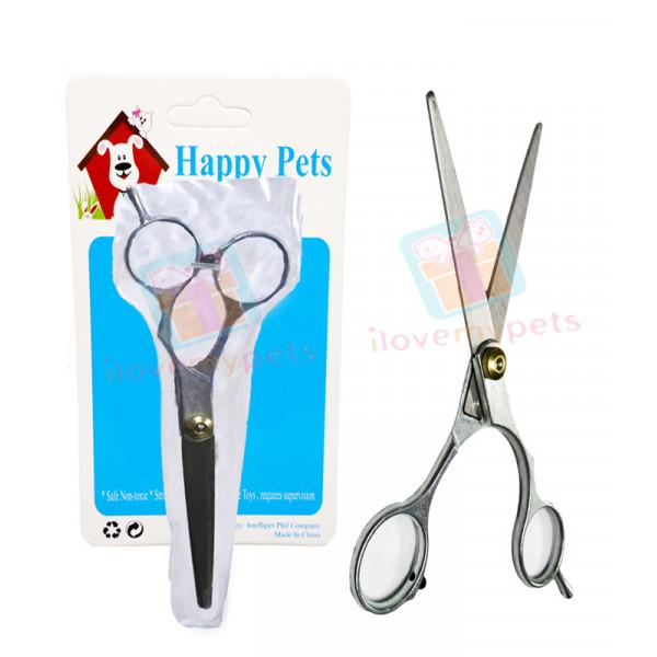 Happy Pets Lightweight Flat Scissors for...