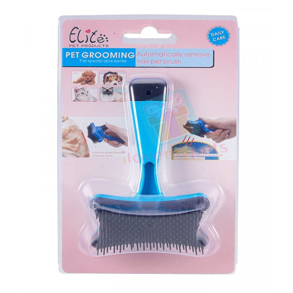 Happy Pets Auto Clean Comb Small