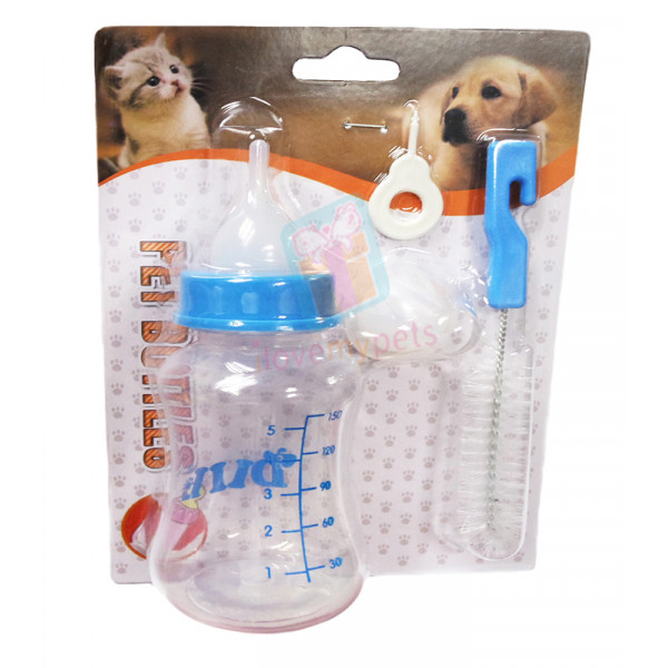 Dill Pet Nursing Bottle w/ Extra Rubber ...