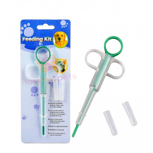 Happy Pets Medicine Feeding Kit Syringe...