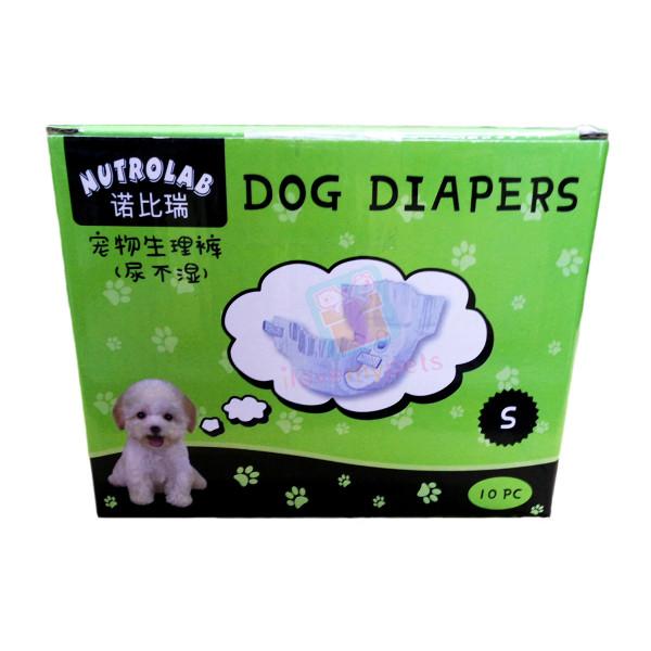 Nutrolab Scented Dog Diaper S 10's
