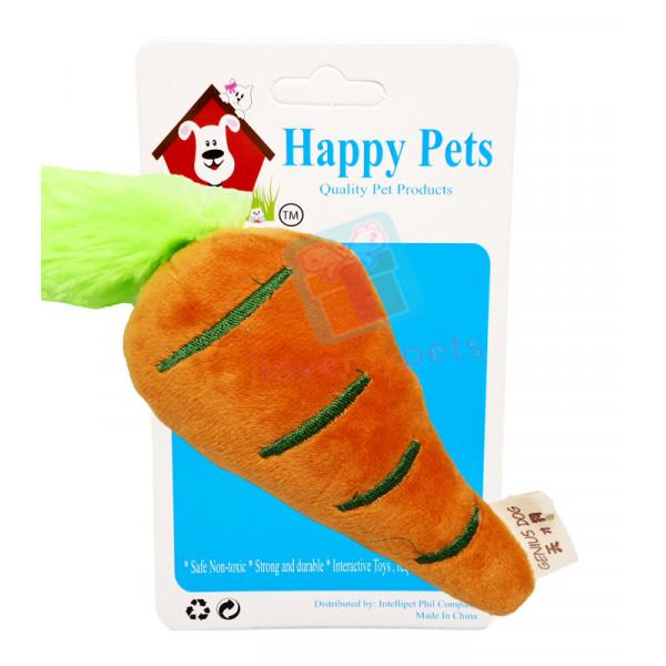 Plush Mini Carrot W/ Squeaker