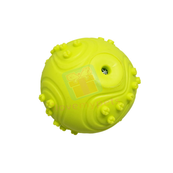 Happy Pets Dog Spiky Ball Squeaks (Small...