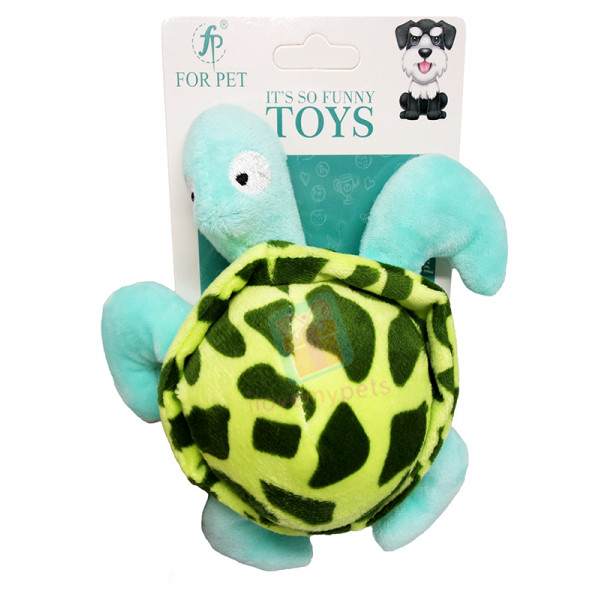 Cotton Turtle with Squeaker, Turtle Eart...