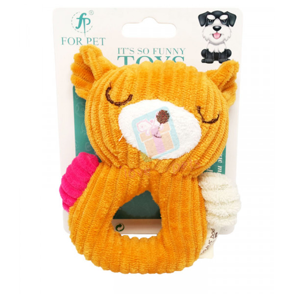 Cotton Squeaker Tug Toy
