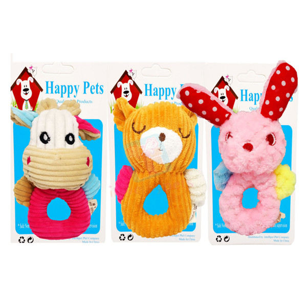 Cotton Squeaker Tug Toy