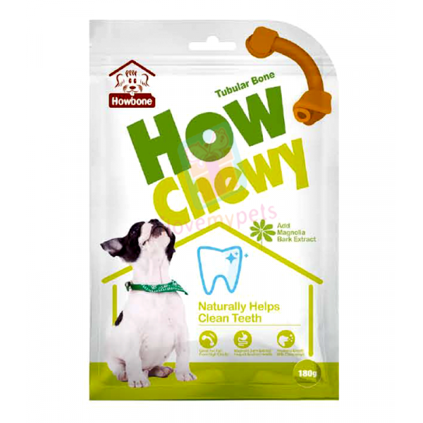 Howbone How Chewy, Tubular Bone, 180 gra...