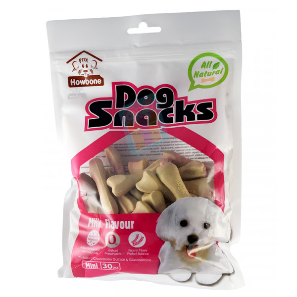 Howbone Dog Snack Mini Milk Flavor (30's)