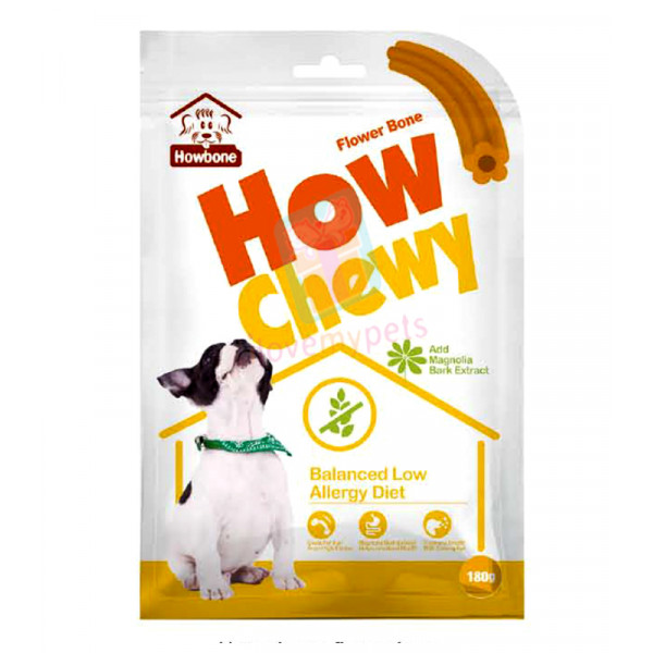 Howbone How Chewy, Flower Bone, 180 gram...
