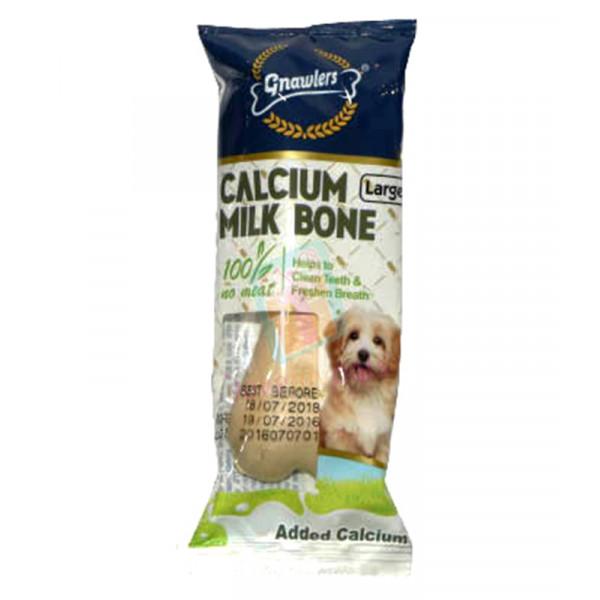"""Gnawler's 4"""" Calcium Milk Bone"""