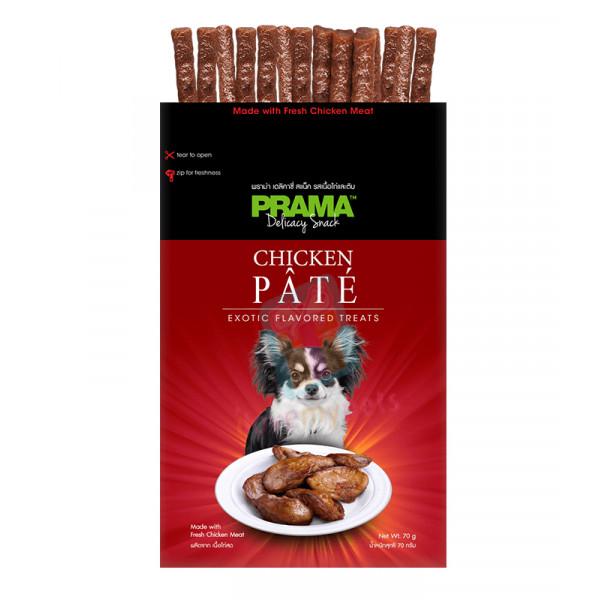 Prama Dog Treats, Chicken Pate 70g