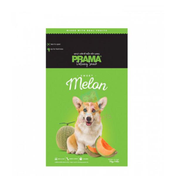 Prama Dog Treats, Melon 70g