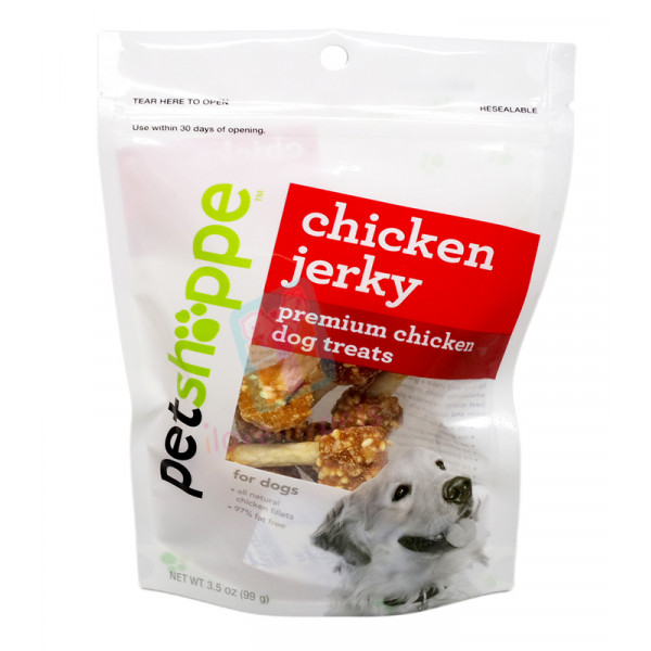 Petshoppe Chicken Meat Ball on Rawhide Stick 8's