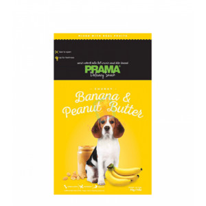Prama Dog Treats, Banana & Peanut Bu...