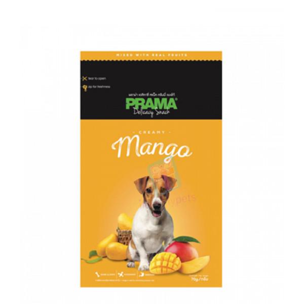 Prama Dog Treats, Mango 70g