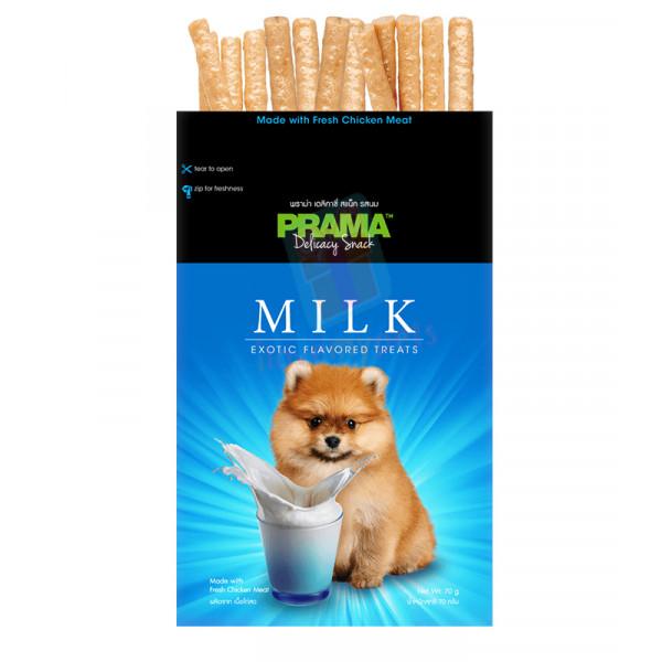 Prama Dog Treats, Hokkaido Milk 70g