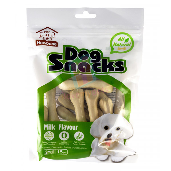 Howbone Dog Snack Medium Milk (15's)