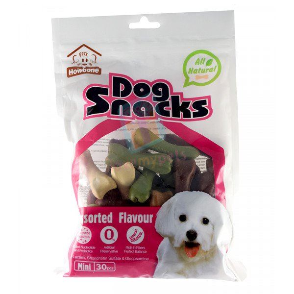 Howbone Dog Snack Mini Mix Flavor (30's)